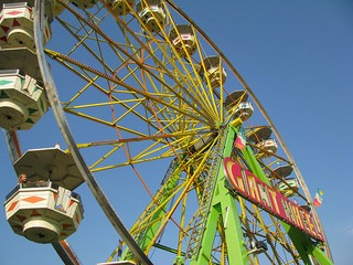 Giant Wheel at the Clark County WA Fair