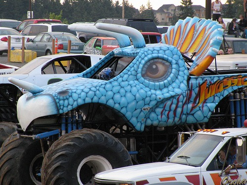 Clark County Fair Monster & Tough Truck Day