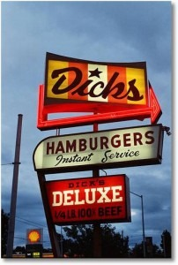 Dick's Drive-In Sign