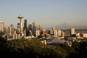 Skyline View from Kerry Park in Seattle
