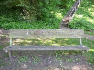 Viretta Park - Kurt Cobain Memorial Bench