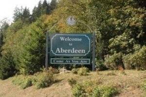 Welcome to Aberdeen - Come As You Are Sign