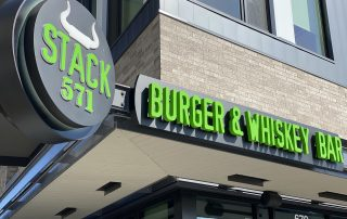 Front of Stack 571 Burger & Whiskey Bar